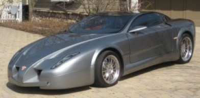 Built in Serbia, the 2007 Zoragy is a concept car featuring, among other things, an all glass roof.