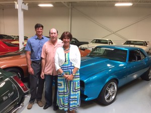 The WKTV Citizen Journalism Team gets to visit with Ken Lingenfelter and view his collection.