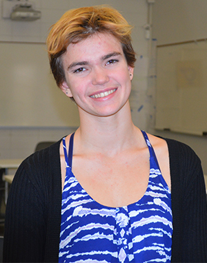Sophomore Anna DeBraber created a video to vent about her concerns with standardized testing