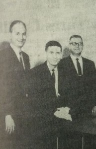 "A picture of the first Kentwood City Council from ""The Story of Kentwood."" Quentin 'Jack"" Ward is on the far left."
