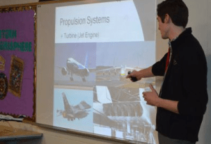 Aviation professional Dan Douglas talks about working with airplanes