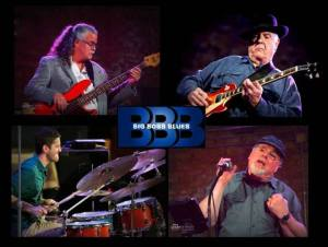 Kalamazoo's Big Boss Blues makes its first Concerts in the Park appearance this year.