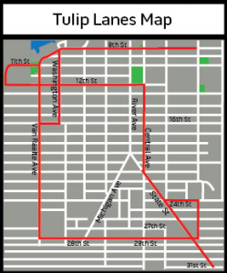 tulip time map