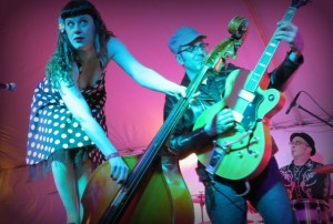 Rockabilly/honky tonk band Delilah DeWylde and the Lost Boys is June 14.