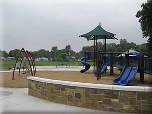 The playground area at Oriole Park.