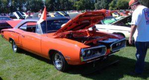 orange at gilmore car museum