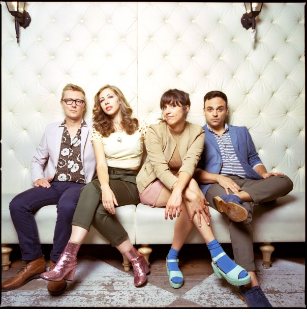 Now familiar to the Meijer Gardens summer concert series after their second visit in three years, Lake Street Dive – from left, Michael Olson, Rachel Price, Bridget Kearney and Michael Calabrese – is a band of eclectic sounds and songs. (Supplied photo)