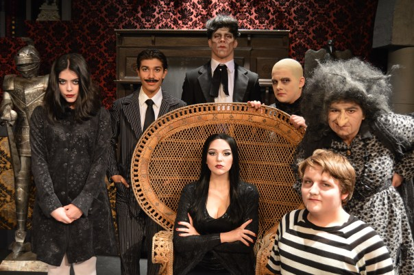 "The cast for the Wyoming Theater Company's production of ""The Addams Family."""
