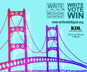michigan writing contests Submission guidelines: submit an original creative writing portfolio containing either up to five pages of poetry or a single fictional short story or creative nonfiction essay of up to 20 pages type and double-space the manuscripts number pages include a cover page with the author's name.