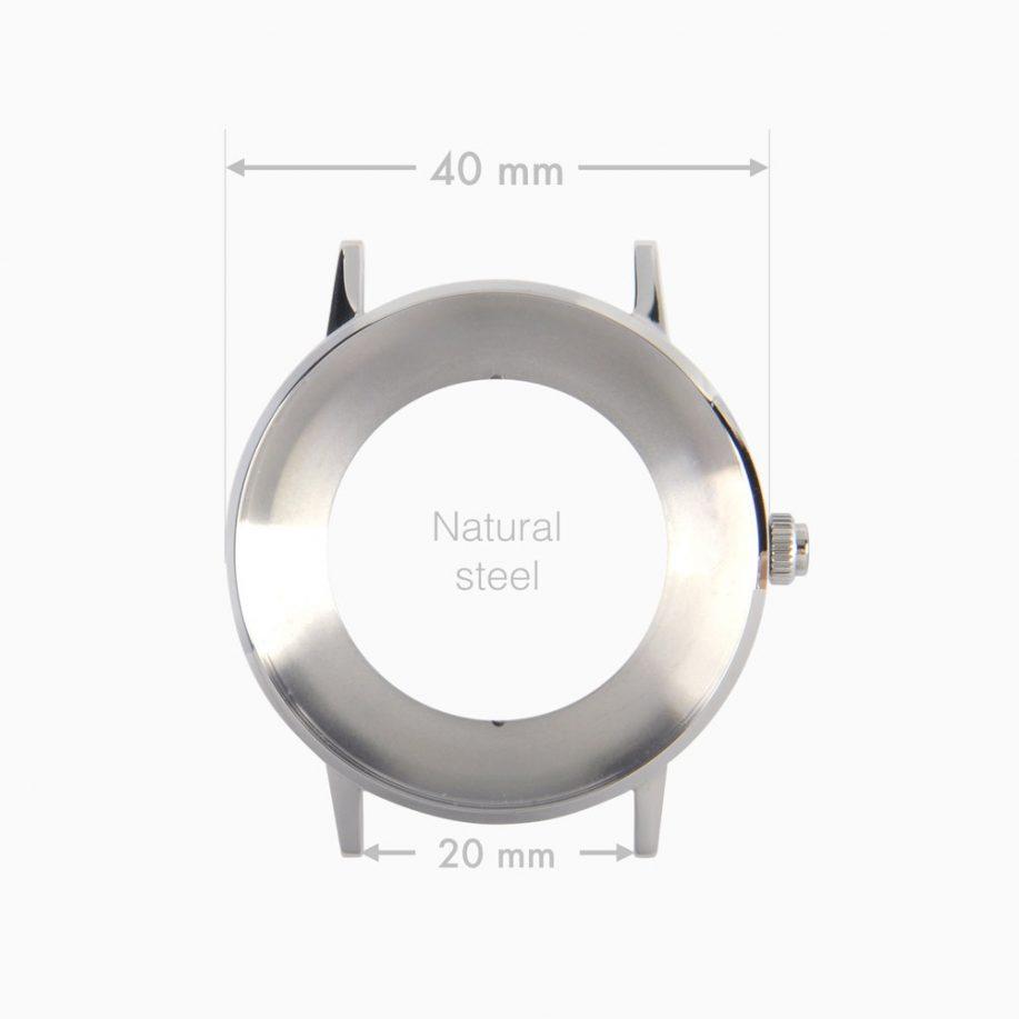 NOWA_Silver_Case_40_mm_finish_Steel