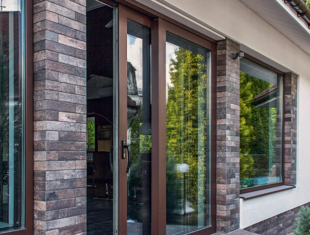 supply only aluminium sliding doors