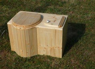 Toilette ohne Wasser für zu Hause