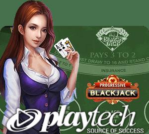 เกมแบล็คแจ็ค เพลย์เทค Blackjack Playtech