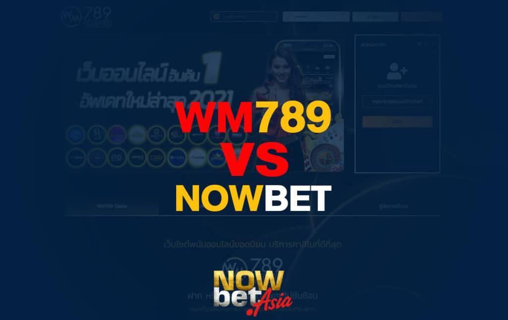 WM789 vs Nowbet