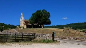 A beautiful Church at Verdeña