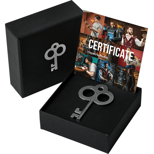 Claustrophobia Gift Card