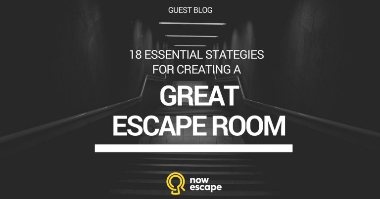 18 Essential Strategies for Creating a Great Escape Room