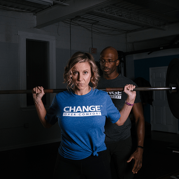Blue Change Over Comfort Unisex T-Shirt
