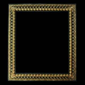 Black Baroque Picture Frames