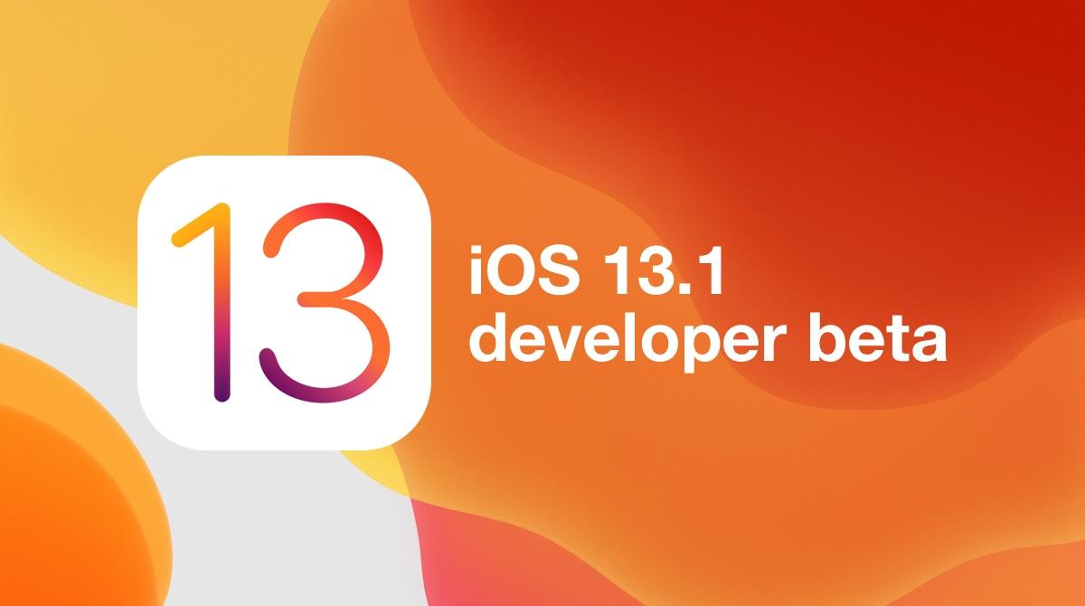 Rilasciato iOS 13.1 beta 1