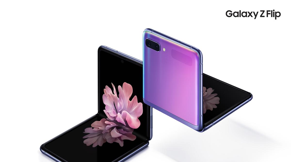 Il futuro cambia forma con Galaxy Z Flip