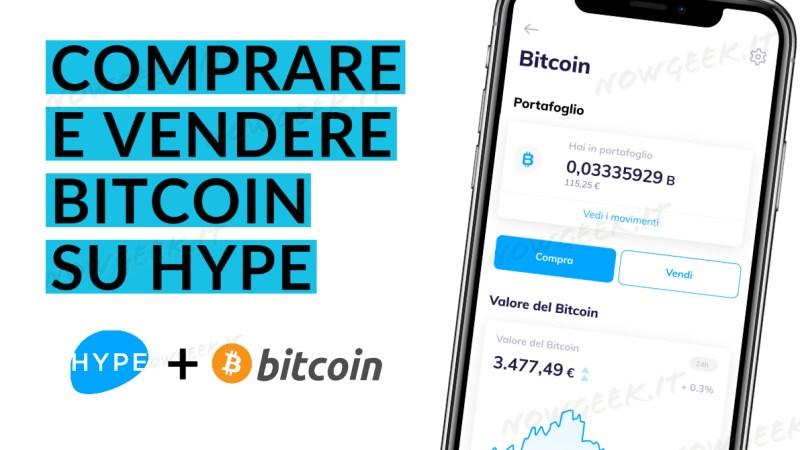 Su Hype tra poco si potranno comprare Bitcoin, ecco come