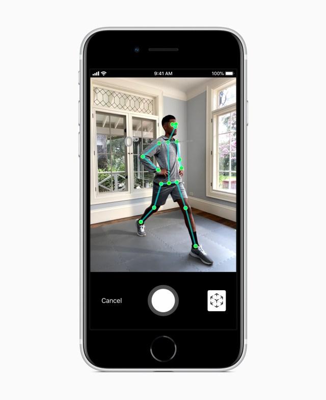iPhone SE 2, intelligenza artificiale foto