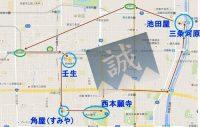 6月の京都、西院から壬生へ、新選組ゆかりの地を訪ねて!