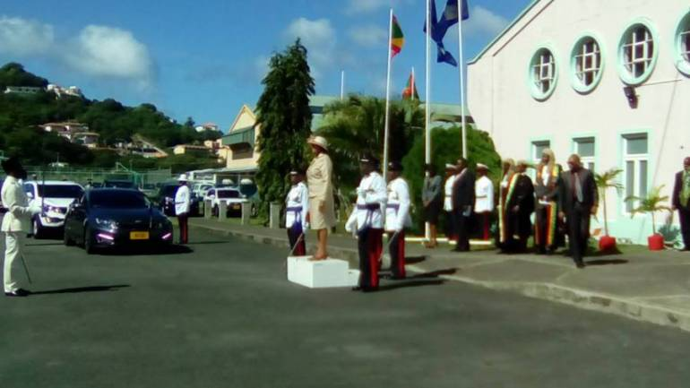 Governor General at Ceremonial Opening of  parliament