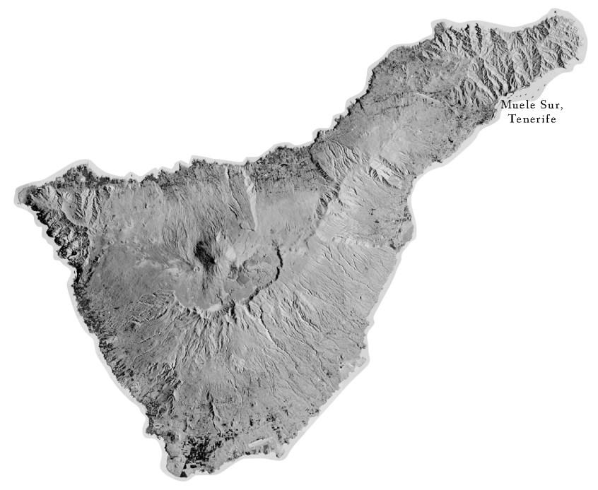 tenerife map