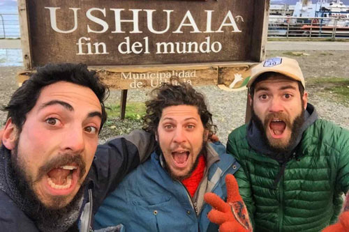 Nowhere Men in Ushuaia, Tierra del Fuego, Argentina