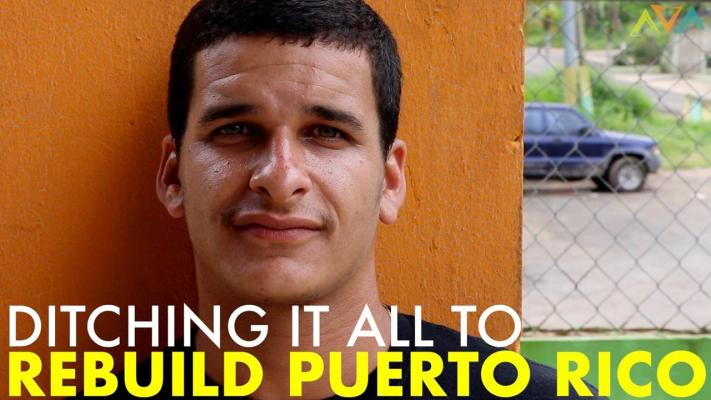 Ditching It All to Rebuild Puerto Rico - Nowhere Men