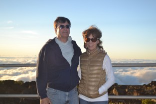 My parents at the summit!
