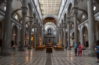 Inside the Medici family's private church