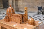 A scale model of the Duomo of Florence
