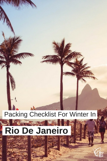 Packing for winter in Rio de Janeiro