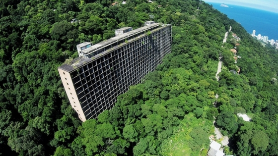 The Abandoned Hotel in the Middle of the Forest in Rio de Janeiro