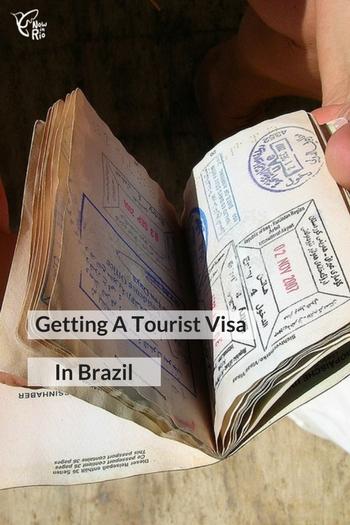 Tourist visa for Brazil