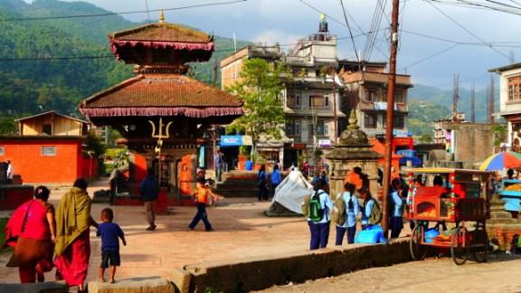 Nepal 10 octobre - Sankhu, Temple de Vajrayogini 013