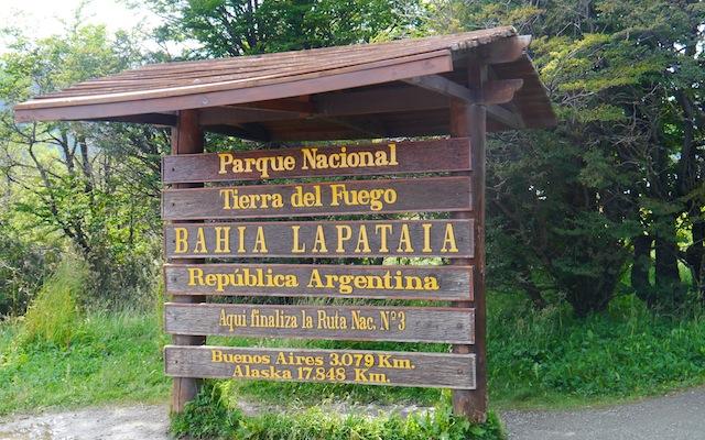 Parc National - Fin de la Route 40