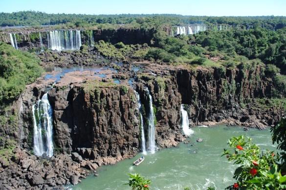 survoler les chutes d'Iguazu en hélicoptère