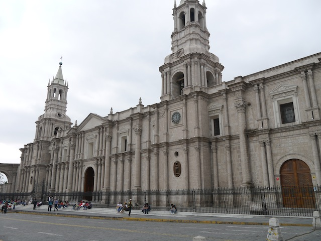Cathedral, Plaza de Armas