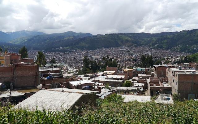 Huaraz, Petite ville de la Cordillère Blanche