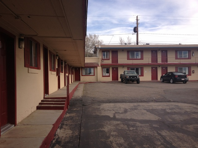 Celui là, à Williams, avait tout des motels glauques que je m'imaginais...