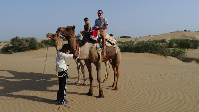 Inde 21 Septembre - Route de Jaisalmer - Khuri 068