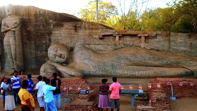 Découverte du Sri Lanka: Polonnaruwa