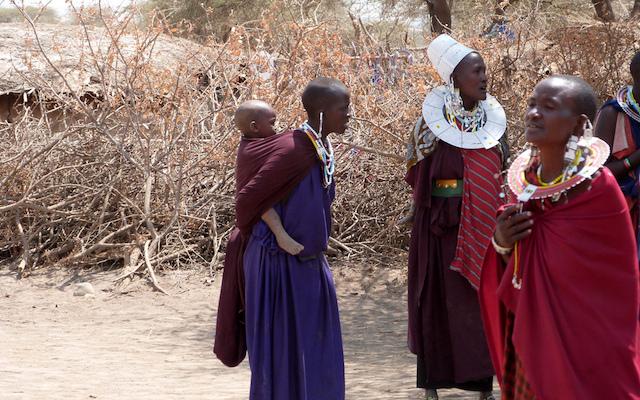 Femmes Maasaï