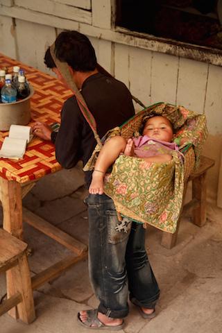 nepalese baby