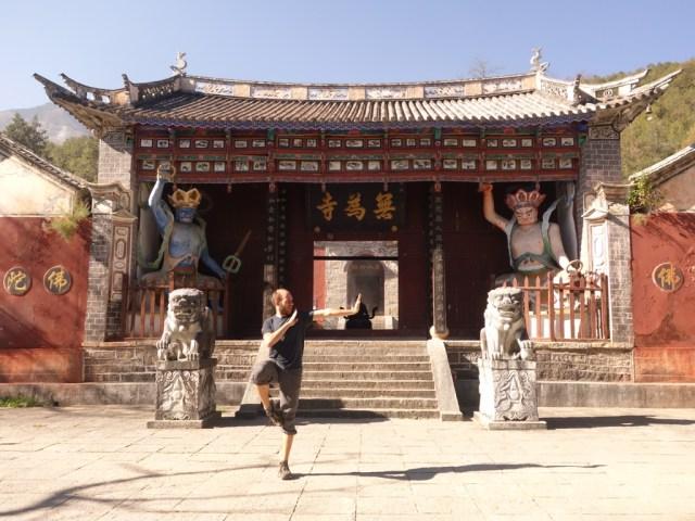 Initiation au Kung Fu au monastère