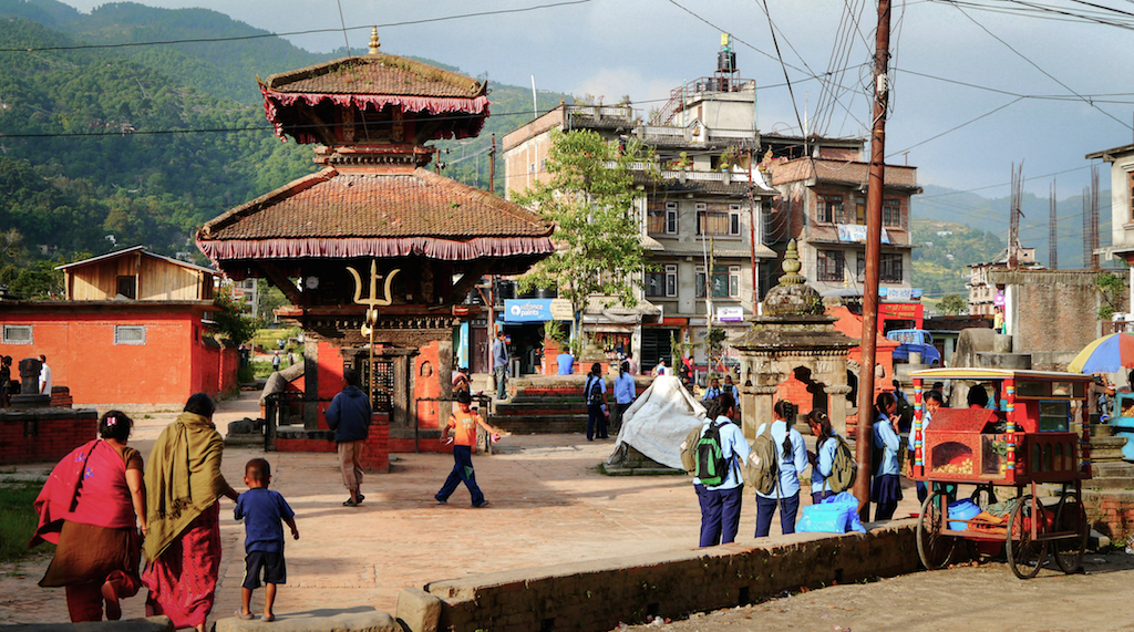 Village de Sankhu